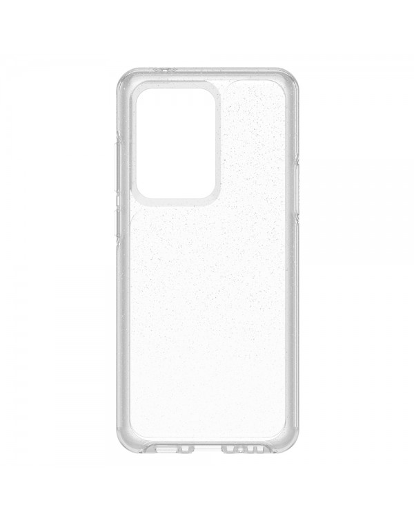 Otterbox - Symmetry Clear Protective Case Stardust (Silver Flake/Clear) for Samsung Galaxy S20 Ultra