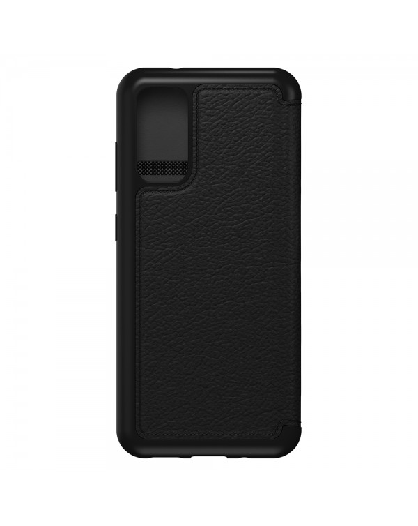 Otterbox - Strada Folio Case Shadow (Blacki/Pewter) for Samsung Galaxy S20