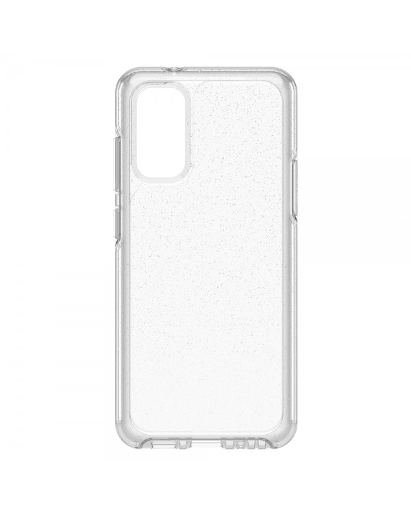 Otterbox - Symmetry Clear Protective Case Stardust (Silver Flake/Clear) for Samsung Galaxy S20