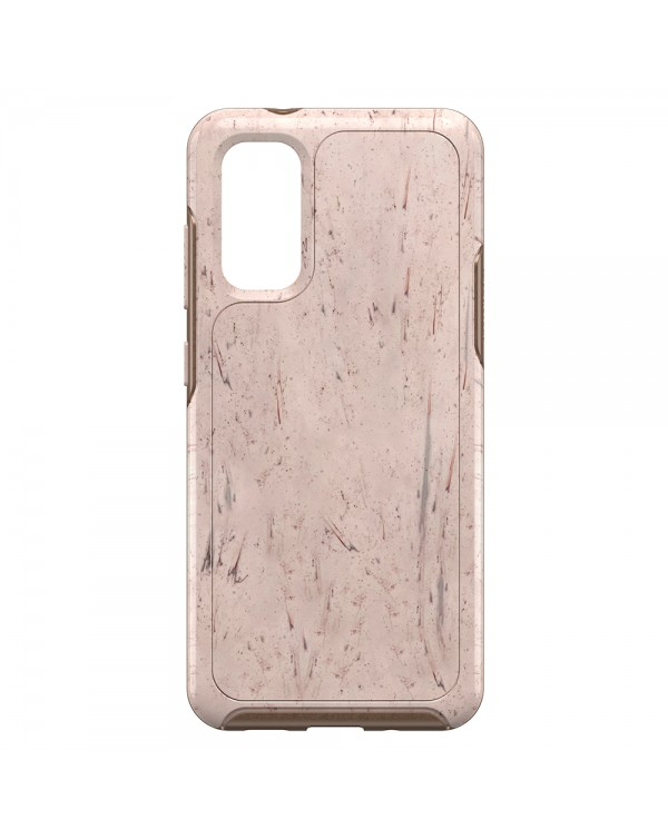 Otterbox - Symmetry Clear Protective Case Set In Stone (Stone Red/Rose Gold) for Samsung Galaxy S20