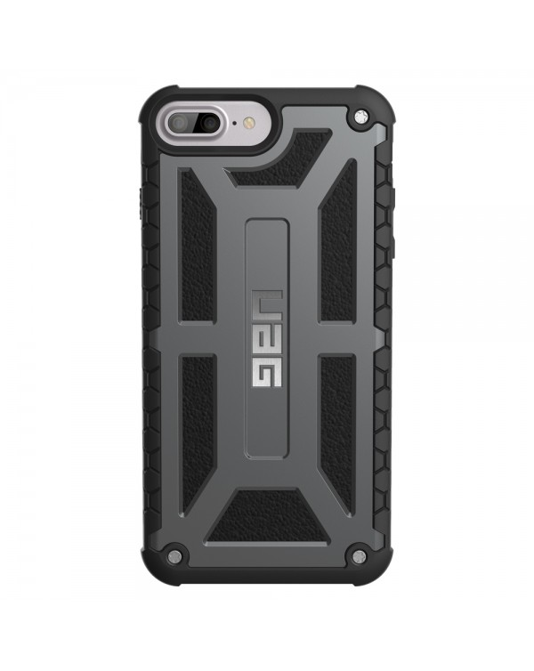 UAG - Monarch Rugged Case Graphite for iPhone 8 Plus/7 Plus/6S Plus