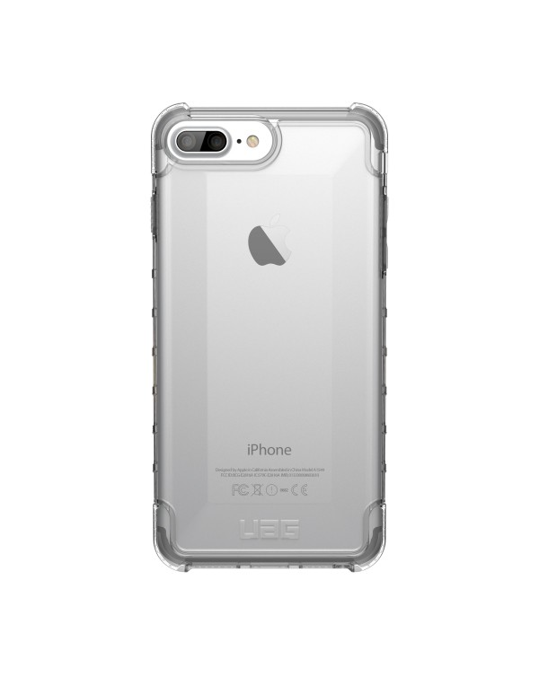 UAG - Plyo Rugged Case Clear for iPhone 8 Plus/7 Plus/6S Plus/6 Plus