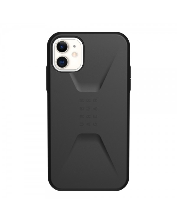 UAG - Civilian Rugged Featherlight Case Black for iPhone 11