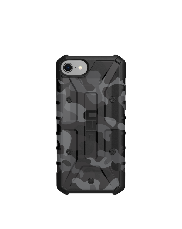 UAG - Pathfinder Rugged Case Midnight Camo (Black) for iPhone 8/7/6S/6
