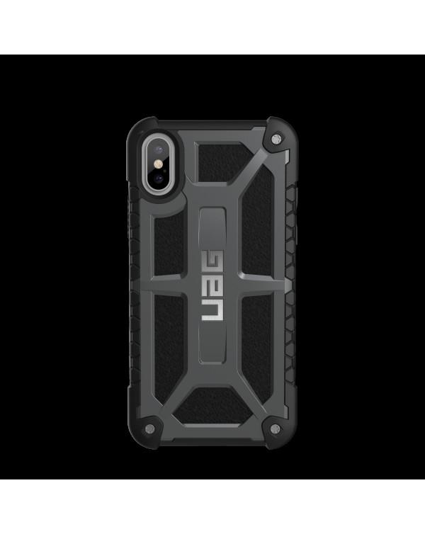 UAG - Monarch Rugged Case Dark Grey for iPhone XS/X