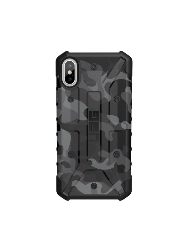 UAG - Pathfinder Rugged Case Midnight Camo (Black) for iPhone XS/X