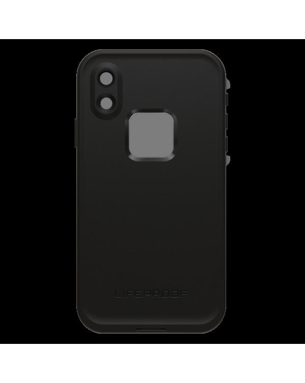 LifeProof - Fre Waterproof Case Asphalt (Black/Dark Grey) for iPhone XR
