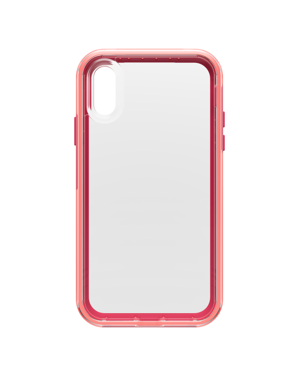 LifeProof - Slam Dropproof Case Coral Sunset (Clear/Coral/Pink) for iPhone XR