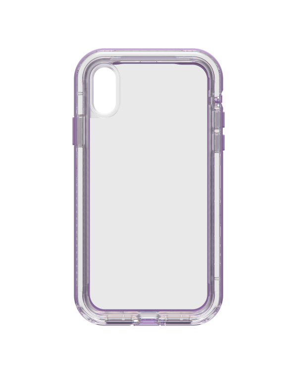 LifeProof - Next Dropproof Case Ultra (Clear/Violet) for iPhone XR