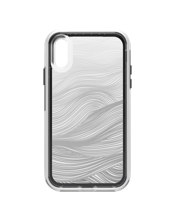 LifeProof - Slam Dropproof Case Currents (Clear/White/Black) for iPhone XR