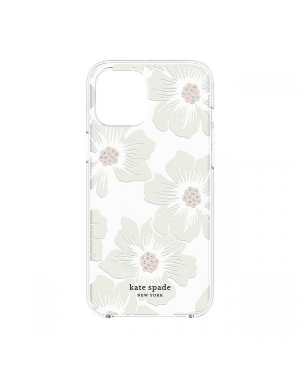 Kate Spade - Protective Hardshell Case Hollyhock Floral for iPhone 12/12 Pro