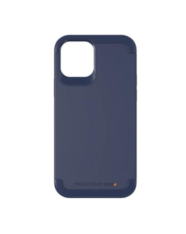 iPhone 12/12 Pro Gear4 D3O Navy Blue Wembley Case