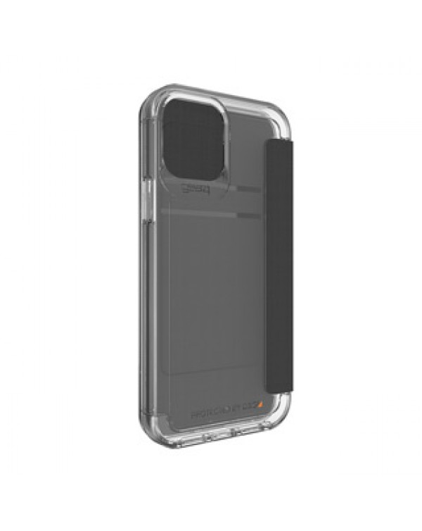 iPhone 12/12 Pro Gear4 D3O Clear Wembley Flip Case