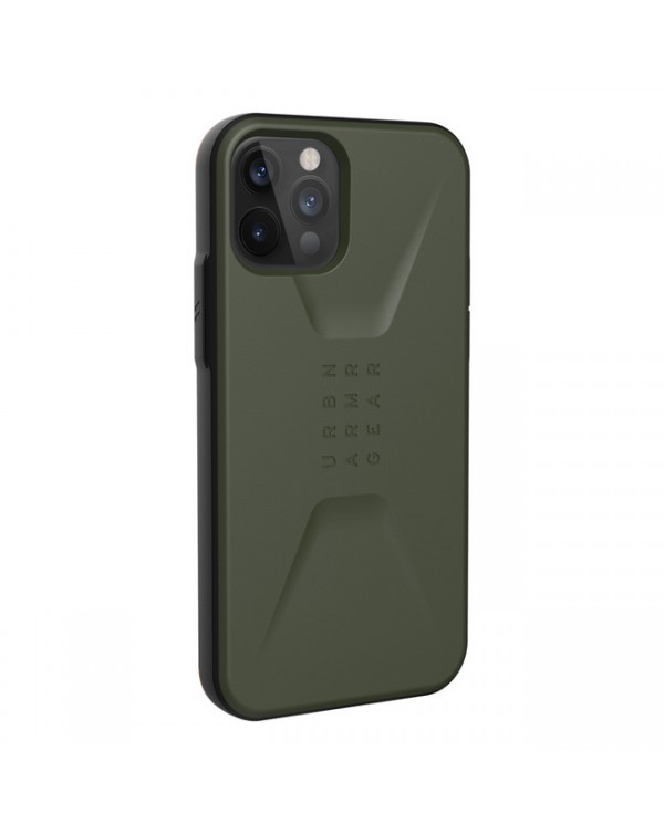 UAG - Civilian Rugged Case Olive for iPhone 12/12 Pro