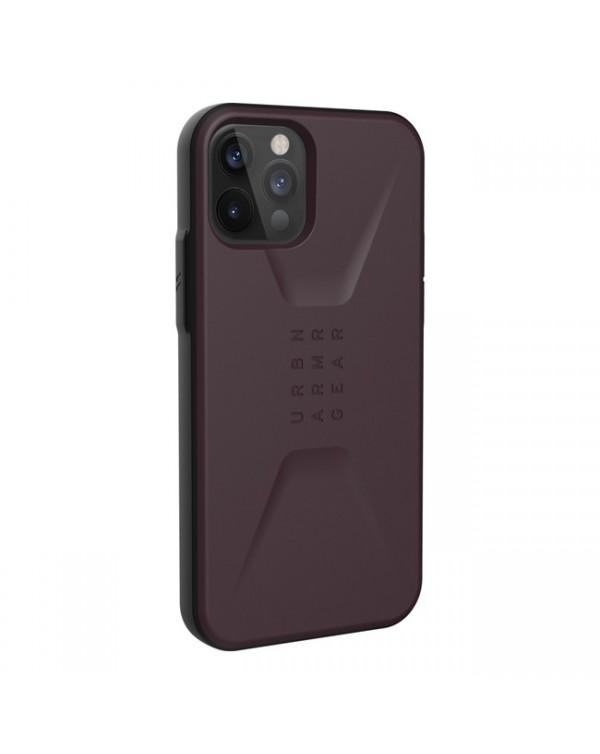 UAG - Civilian Rugged Case Eggplant for iPhone 12/12 Pro