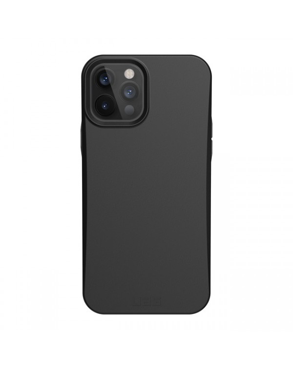 UAG - Outback Biodagradable Rugged Case Black for iPhone 12/12 Pro