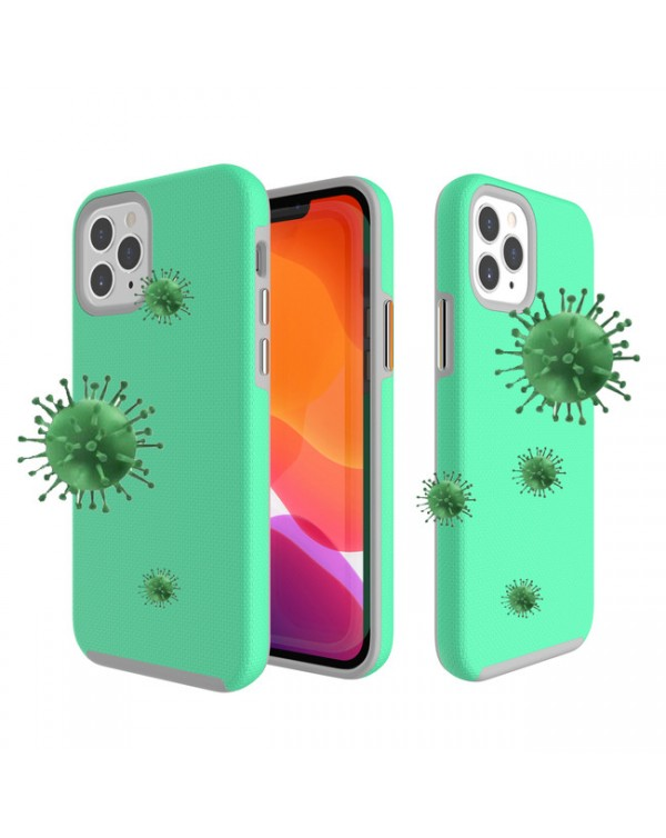 Blu Element - Antimicrobial Armour 2X Case Teal for iPhone 12/12 Pro