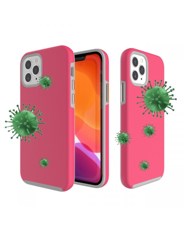 Blu Element - Antimicrobial Armour 2X Case Pink for iPhone 12/12 Pro
