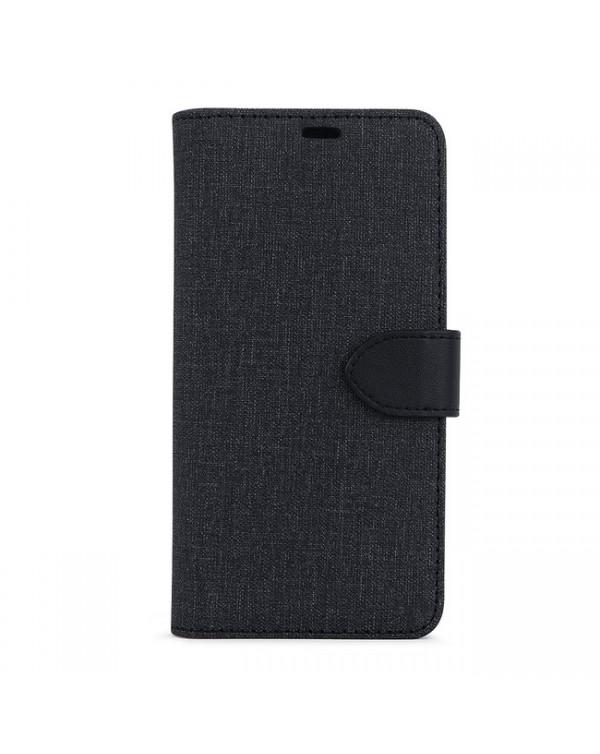 Blu Element - 2 in 1 Folio Case Black/Black for iPhone 12/12 Pro