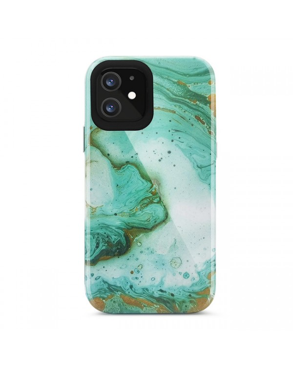 Blu Element - Mist 2X Fashion Case SeaFoam Green Glossy for iPhone 12/12 Pro