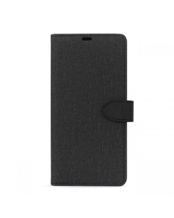 Blu Element - 2 in 1 Folio Case Black/Black for Samsung Galaxy Note20 Ultra