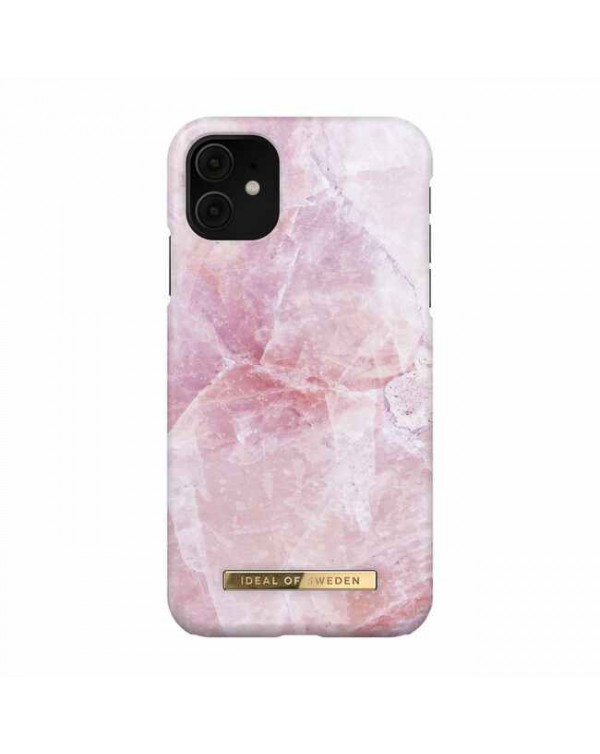 Ideal of Sweden - Fashion Case Pilion Pink Marble for iPhone 11/XR