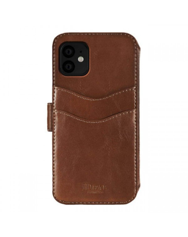 Ideal of Sweden - STHLM Wallet Case Brown for iPhone 11/XR