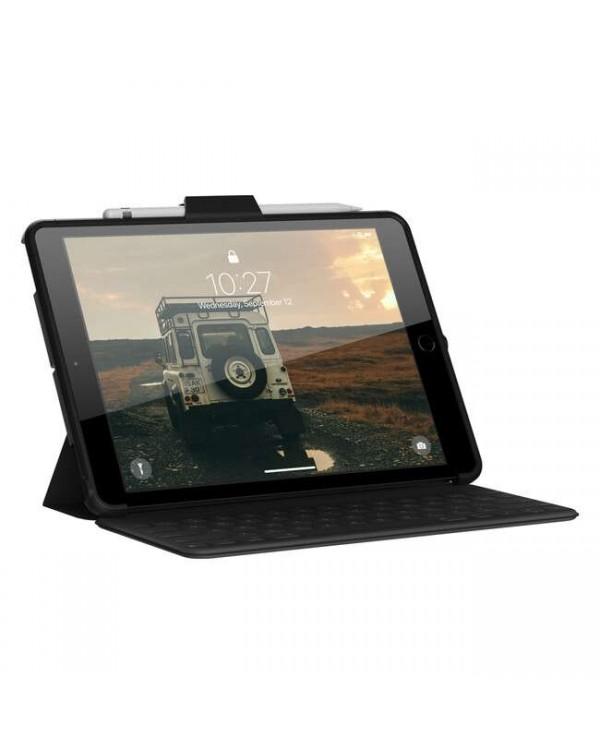 UAG - Scout Handstrap Case Black for iPad 10.2 2020 8th Gen/iPad 10.2 2019