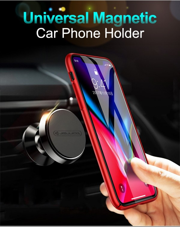 JELLICO Car Mount/Cell Phone Holder/Magnet Car Phone Holder Air Vent Portable Mobile