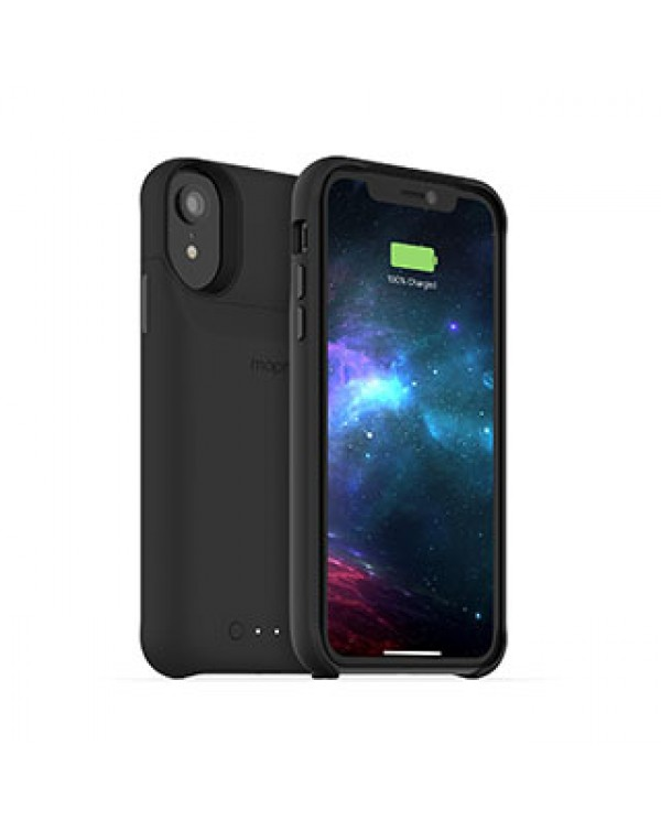 iPhone XR mophie black juice pack access case w/ Qi