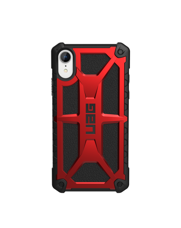UAG - Monarch Rugged Case Crimson (Red) for iPhone XR