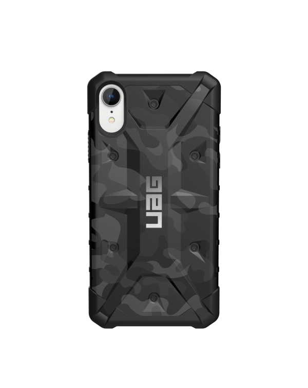 UAG - Pathfinder Rugged Case Midnight Camo (Black) for iPhone XR