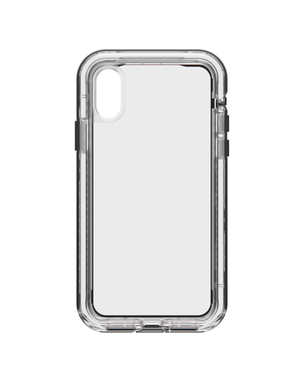 LifeProof - Next Dropproof Case Black Crystal (Clear/Black) for iPhone XS/X