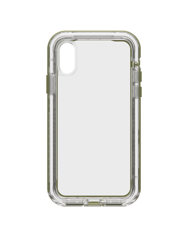 LifeProof - Next Dropproof Case Zipline (Clear/Mosstone) for iPhone XS/X