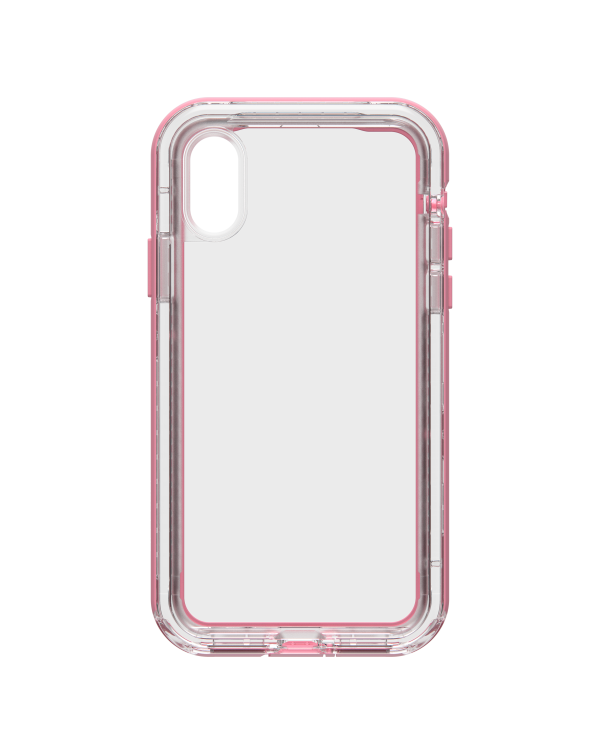 LifeProof - Next Dropproof Case Cactus Rose (Clear/Pink) for iPhone XS/X