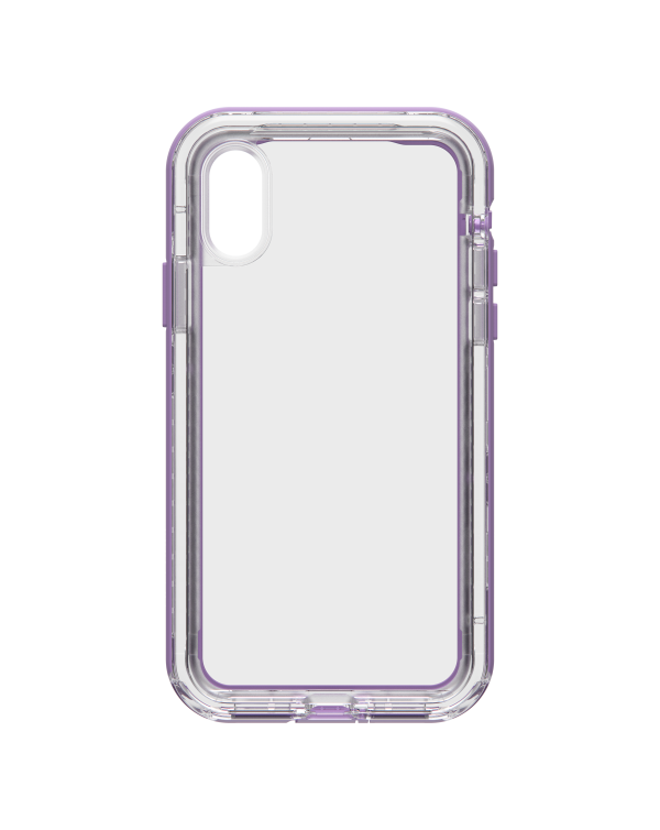 LifeProof - Next Dropproof Case Ultra (Clear/Violet) for iPhone XS/X