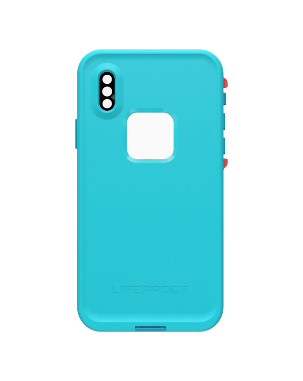 LifeProof - Fre Waterproof Case Boosted (Blue/Ocean) for iPhone XS