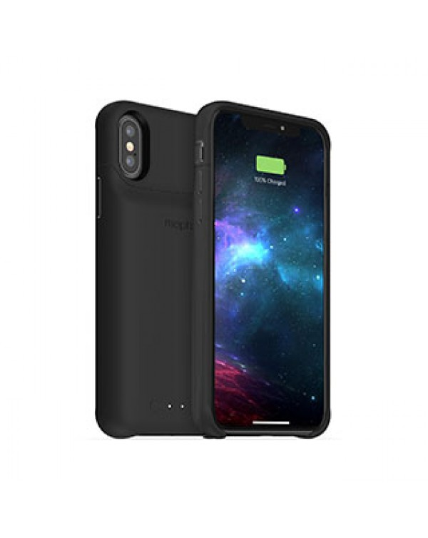 iPhone X/Xs mophie black juice pack access case w/ Qi