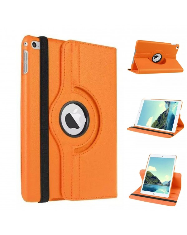 Rotating Flip Cover For Apple iPad 10.2 7th Gen (2019) Orange