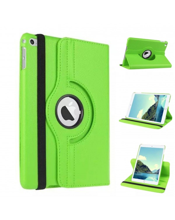 Rotating Flip Cover for Apple iPad 9.7 (2018) Green