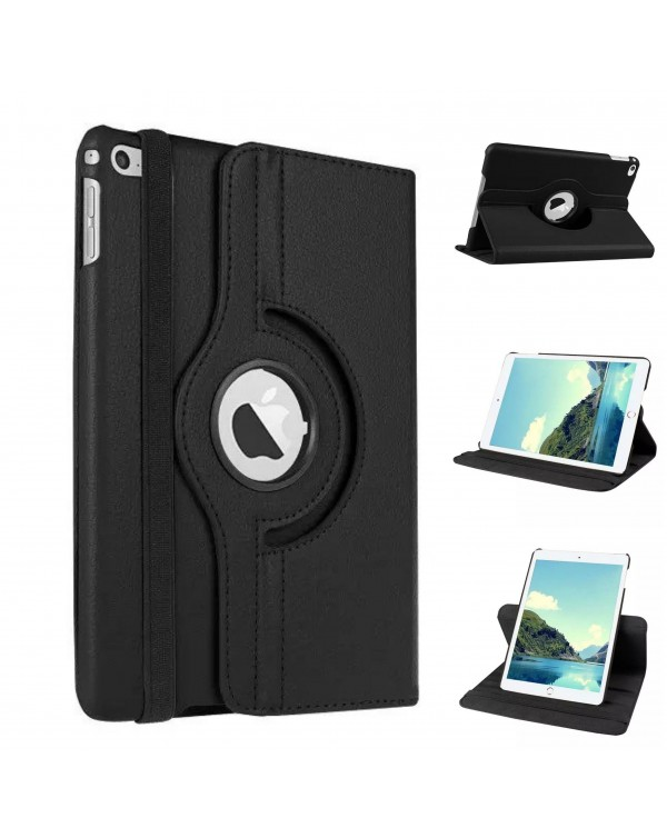Rotating Flip Cover For Apple iPad Air 2 Black
