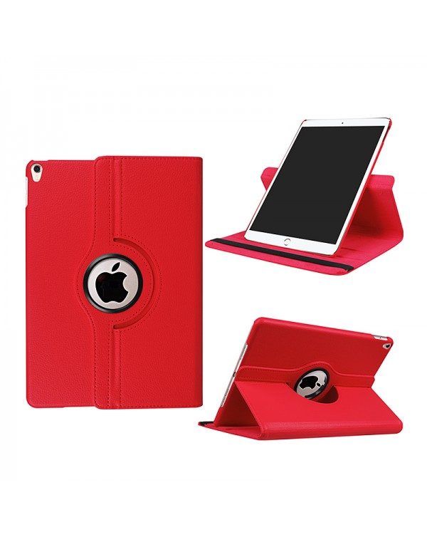 Rotating Flip Cover For Apple iPad Pro 9.7 Red