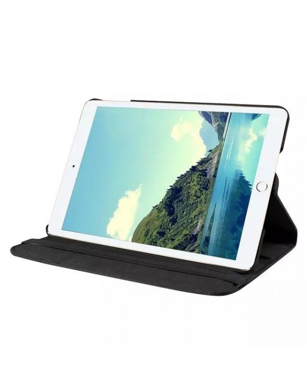 Rotating Flip Cover For Apple IPad Mini 1/2/3-Black