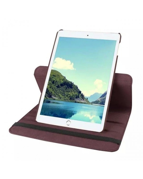 Rotating Flip Cover For Apple iPad Air 3 Brown