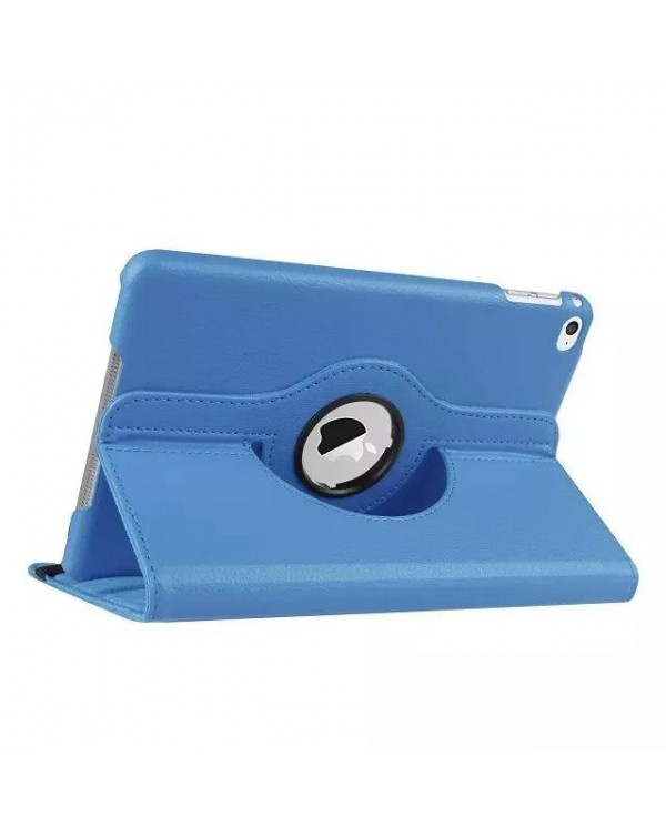 Rotating Flip Cover For Apple IPad Mini 1/2/3-Light Blue