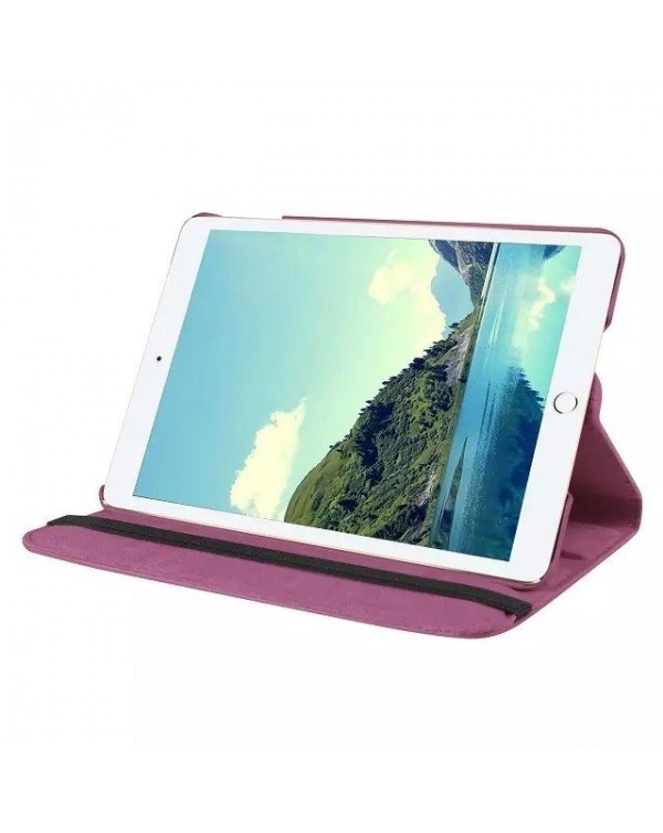 Rotating Flip Cover For Apple IPad Mini 1/2/3-Purple