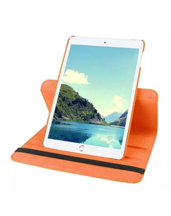 Rotating Flip Cover For Apple iPad Pro 9.7 Orange