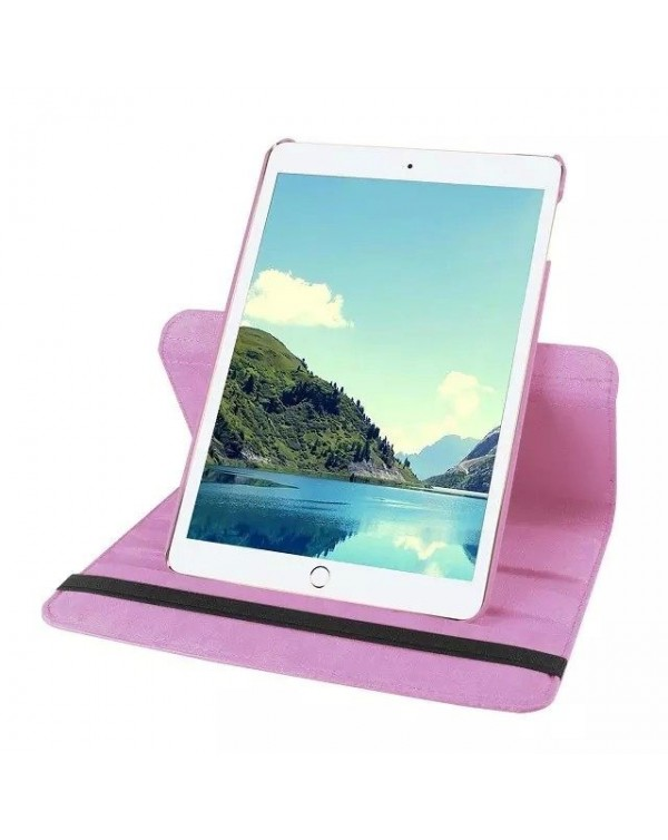 Rotating Flip Cover For Apple iPad Pro 9.7 Light Pink