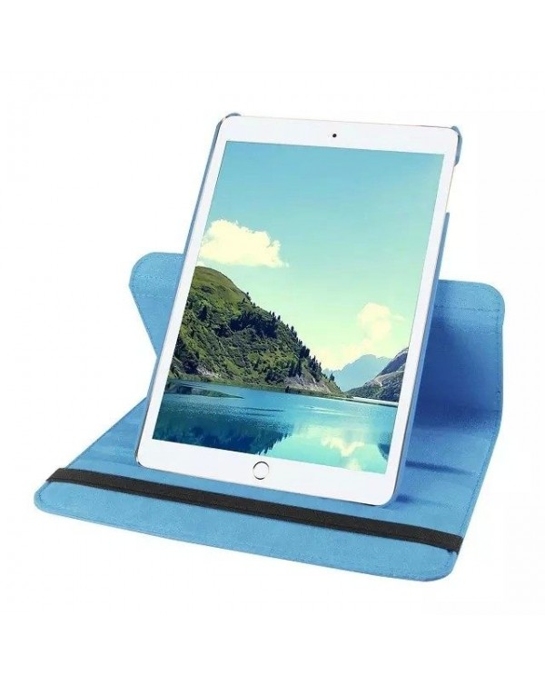 Rotating Flip Cover For Apple iPad Pro 9.7 Light Blue