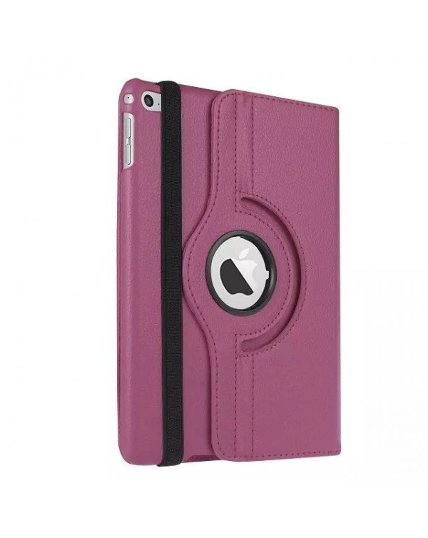 Rotating Flip Cover For Apple iPad 10.2 7th Gen (2019) Purple